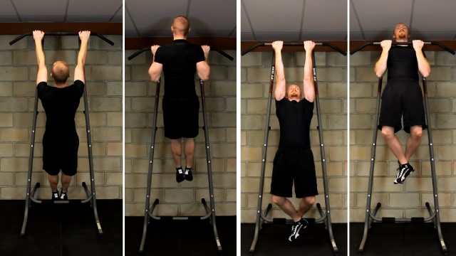 difference between pull-ups and chin-ups