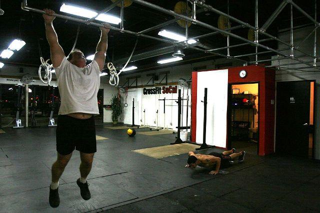 deadhang or flexed arm hang