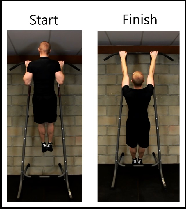 negative repetition pull-ups