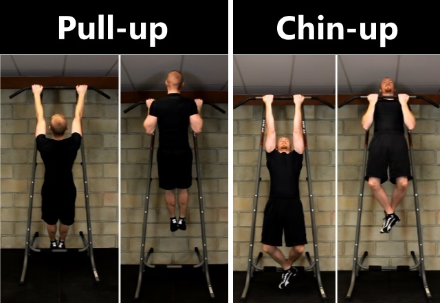 how to properly hold a pull up bar