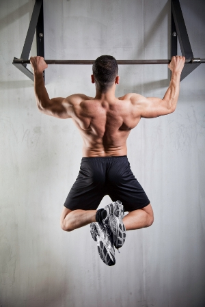 the pullup solution - male model