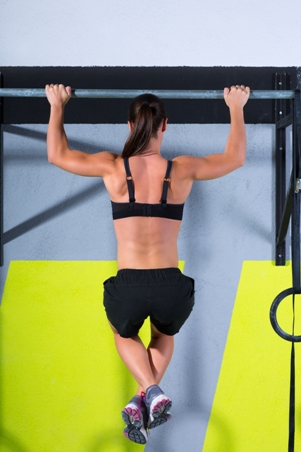 the pullup solution - female model